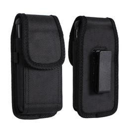 Для iphone X 7 8 Plus Универсальный Спорт Нейлоновая Кожаная Кобура Зажим для Ремня Телефон Чехол Чехол для Samsung Huawei S9 Plus от
