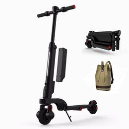 """X6 o """"trotinette"""" elétrico 200T dos """"trotinette"""" do pontapé dois roda o E-trotinette """"portátil 24V dos"""" trotinette """"s / suspensão eletrônicos para adultos de Fornecedores de alto-falante balanceamento de scooters"""