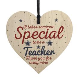 recuerdos de boda gratis para invitados Rebajas Regalo colgante del corazón para el maestro Dejando presente regalos de agradecimiento