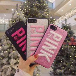 Teléfono secreto online-Nuevo en 2019 PINK Victoria Soft Funda para iPhone 8 8 Plus 7 7 Plus 6 6 Plus 6s Plus X Xs Max XR Funda para teléfono Caja secreta