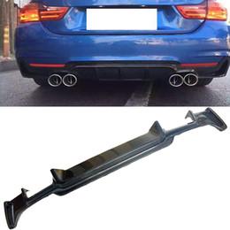 Heckstoßstange bmw online-C-C Style Carbon Heckdiffusor Passend für BMW 4er F32 F33 F36 M-Sport