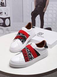 Edições limitadas tênis on-line-2019 m nova edição limitada personalizado de luxo dos homens de calçados casuais, tendência dos homens listrado cavalheiro moda calçados esportivos, jardas: 38-45