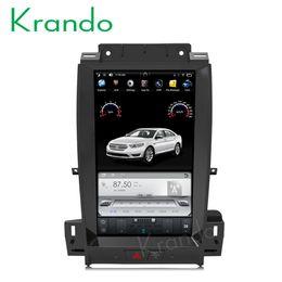 2019 ford dvd navigation Krando Auto DVD-Radio-Player GPS für Ford Taurus 2012-2016 Multimedia-System Android 6.0 13,3