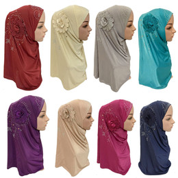 arabischer schal hijab Rabatt Islamischer Damen Kopftuch Headwear Muslim Hijab Innenkappe wickeln Schal Schal Ramadan Arab Amira Kopftuch