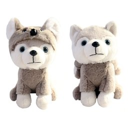 Soft koala giocattolo online-Carino animale Koala peluche Toy Dog indossando Koala vestiti Sweetheart Baby Sleeping Soft Toy 22 centimetri per il regalo della novità dei bambini 2019