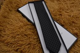 2019 schlanke krawatte schwarz Mens Ties Marke Man Fashion Brief Krawatten Hombre Gravata Slim Tie Classic Business Hochzeit Bankett Casual schwarze Krawatte für Männer G0901 rabatt schlanke krawatte schwarz