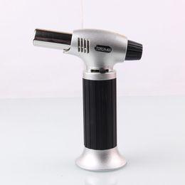 2019 torches de cuisine Butane Scorch Torch Lighters Briquets Chef Cuisson Rechargeable Ajuster Flamme Cuisine Briquet Allumage Spray Gun Pique-Nique Outil HH7-1147 promotion torches de cuisine