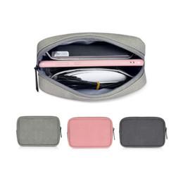 2019 cajas de almuerzo aisladas rosadas Accesorios digitales Paquete de recepción Cable de datos Ratón Bolsa de protección de energía móvil U Disco Cargador Caja de limpieza