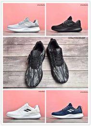 Nombres para hombre zapatillas online-Marca de moda de moda Alphabounce 1 M Bounce Breathe sneaker para hombre zapatillas de deporte de los hombres de alta calidad zapatos deportivos para correr Size36-45