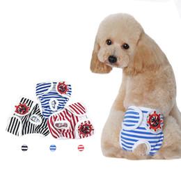2019 sudaderas rosas para perros grandes. Pantalones cortos para perro para mujer Pantalones fisiológicos para perros Pañal Ropa interior para mascotas Peluche Schnauzer Cachorro Menstrual Kim Hussein Pantalones grandes para perros