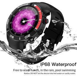 orologi intelligenti h8 Sconti 696 H8 Moda 4G GPS intelligente orologio impermeabile IP68 supporto Android 7.1 Nano SIM 16GB / ROM Smartwatch Heart Rate Monitor Contapassi