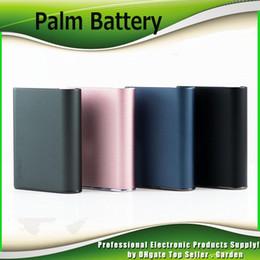Deutschland Palm Vape 550mAh Akku Box Mod mit inhalieren Activated510 Thread Auto Draw Batterie für dicke Ölpatronen Tank Top Qualität Versorgung