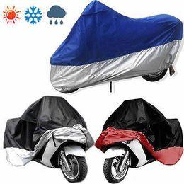 serbatoio del gas del motociclo di honda Sconti Moto Motociclette Coperta da esterno per esterni Protezione antipolvere impermeabile UV K5358