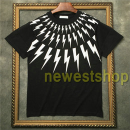 Mens t shirts styles en Ligne-2020 new style summer mens Collar white geometry printing short sleeve t shirt Designer t shirt Camisetas t shirts unsex cotton tee tops
