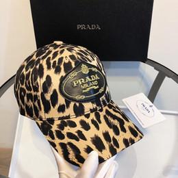 Branding di cappelli da baseball online-Cappelli famosi di cappelli firmati Berretti da baseball da donna da uomo Cappellino con marchio leopardato Cappellino regolabile di moda firmata Cappelli caldi di alta qualità