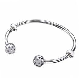 Original 925 Sterling Silver Moments Ouvrir Pandora Bracelet Pave Scintillants Embouts Bracelet Bracelet Fit Perle Charme Diy Beaux Bijoux ? partir de fabricateur