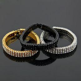 gold-diamant-tennis-armbänder Rabatt 12mm 8