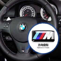 Canada Insigne de roue de véhicule de voiture M Sport 3D Emblème Sticker Stickers Logo pour BMW Série M M1 M3 M5 X6 X3 X5 X6 Offre