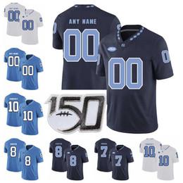 Andy Bershak North Carolina Tar Heels Jordan Football Jersey - Light Blue