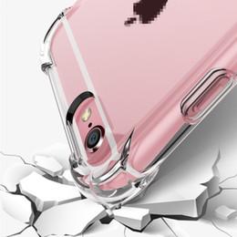 apple iphone 4s azul Desconto À prova de choque transparente phone case para iphone x xs xs max xr 8 7 6 além de gel macio tpu case limpar back cover para samsung s8