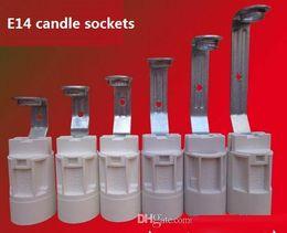 E14 Vida Küçük Mumlar Lamba Tutucular / Baz Kristal Kolye Ampuller Soketler ile Tel Aydınlatma Aksesuarları Yedek parça nereden