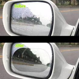 vw гольф-крыло Скидка 100*100 мм авто анти водяной туман фильм Зеркало заднего вида защитная пленка анти туман покрытие непромокаемые окна ясно непромокаемые