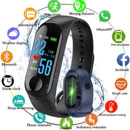 Argentina M3 Inteligente Pulsera de Banda Reloj de Ritmo Cardíaco Actividad Rastreador de ejercicios pulse Relógios reloj inteligente PK fitbit XIAOMI reloj de manzana Suministro