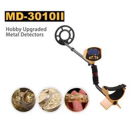 Detecção de ouro on-line-MD3010II profissional Detector De Metais De Ouro Subterrâneo Tesouro Hunter Digger Metal finder Detectar Procurar Encontrar moeda diy china gold sniper