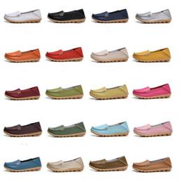 спортивная медсестра Скидка Дуг Плоские Туфли Мокасины Сандалии Медсестры Мать Обувь Плоские Летние Повседневные Chaussures Спорт Плюс Размер Мягкая Обувь Обувь Из Натуральной Кожи B5093
