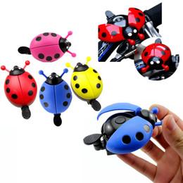Kids Bicycle Ladybug Bell Ladybird Creative Ladybug Alarm Device For Cycling