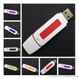¡Gran venta! Venta al por mayor / lote / unidad USB flash a granel memoria de almacenamiento en lápiz Memory Stick Capacidad real Envío gratuito desde fabricantes