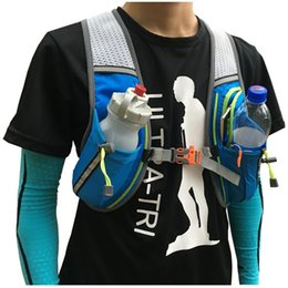 tri pack Coupons - Wholesale- ULTRA-TRI Trail Running Backpack Lightweight Outdoor Sport Bag Race Training Professional Vest Pack 8L