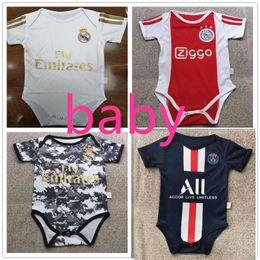 Pullover ragazza online-2020 Curry nato vestiti per bambina L'ultima maglia sala Real Madrid salah camisa de futebol messi qualità psg 6-18 mesi baby shir
