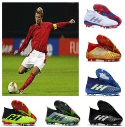 db1c417bf HOT 2018 Copa del mundo de calidad superior Falcon 18.1 18+ zapatos de fútbol  Botas de fútbol FG botines de fútbol Zapatillas de deporte zapatos de  diseño ...