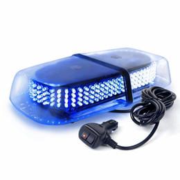 Luz estroboscópica azul / blanca de 240 LED con base magnética para la seguridad del arado de nieve del camión desde fabricantes