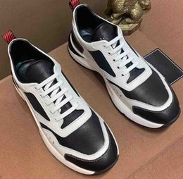 men cowhide leather shoes Coupons - The latest leisure men's shoes cowhide splicing production pig leather inside to create fashion wear - resistant super soft outsole ck02a
