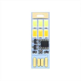 2019 lampada alogena al tungsteno Interruttore touch touch dimmer scheda USB luce notturna bicolore temperatura di emergenza portatile lettura luce notturna