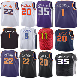 df7f6083bf6a Devin 1 Booker Josh 20 Jackson Jersey DeAndre 22 Ayton 11 Young 5 Fox Marvin  35 Bagley III Men Basketball Jerseys