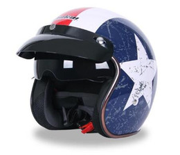 DOT Jahrgang 3/4 Motorrad-Sturzhelm Qualitäts-Chopper Bike Helm Retro Capacete Casco M L XL verfügbar JIEKAI 510 von Fabrikanten