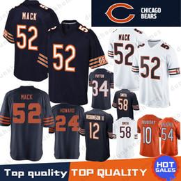 52 Khalil Mack Chicago Bears Jersey 10 Mitchell 17 nthony Miller 24 Howard  54 Brian Urlache 12 Allen Robinson II 29 Cohen 34 Payton Stitched 92f3d3b1f