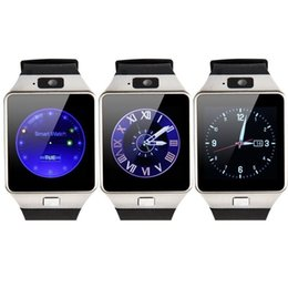 Tarjeta iphone 2g online-Bluetooth Smart Watch Smartwatch DZ09 Android Llamada de teléfono Relogio 2G GSM SIM Tarjeta cámara para iPhone Samsung HUAWEI