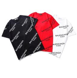 2019 rapaz londrina camiseta homens Mens Marca Das Mulheres T Shirt 2019 Verão Novo Designer Roupas Casuais Carta de Impressão de Manga Curta Moda Em Torno Do Pescoço Top Carta Solta Corda Tee