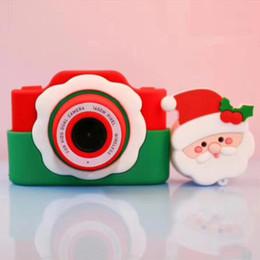 beste neue spielzeug für weihnachten Rabatt Neue Styles Christmas Baby-Digitalkamera Spielzeug Weihnachtsmann-Karikatur-Form-WIFI 2400W Digitalkamera für Kinder bestes Weihnachtsgeschenk L504