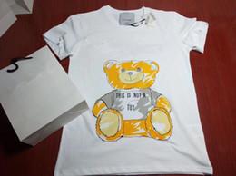 2019 nouvelle mode dame filles vêtements T-shirt femmes ours fanny T Shirt coton occasionnel Tee surdimensionné Top ? partir de fabricateur