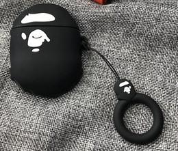 2019 Yeni Moda Marka Airpods Durumlarda Koruyucu Kapak Tasarımcı Stil Airpods Durumlarda Kulaklık Durumda Koruyucu 6 Renk A @ pe Toptan supplier pe case nereden pe davası tedarikçiler