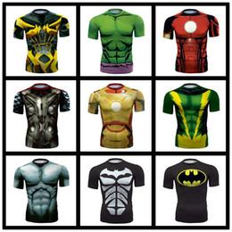 Shirts rächer online-Avengers Captain America 3D-Druck Paar T-Shirt Damen T-Shirt Herren Sommer Kurzarm Casual T-Shirt Laufen Reiten Sport Schnell trocknend