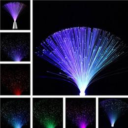 RGB Multicolore LED Fibre Optique Nuit Lumière Lampe Pour La Décoration Intérieure Pièce maîtresse Enfants Vacances De Mariage cadeau enfants ? partir de fabricateur