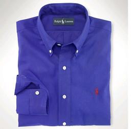 Camisa polo a xadrez on-line-A camisa POLO de algodão POLO de alta qualidade para homem 2019 está disponível em 9 cores S - XXL