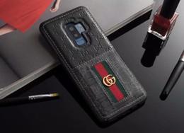 2019 padrões de telefone Moda de luxo phone case para iphone x xs max xr 8 7 couro abelha padrão de cobra impressão designer phone case para samsung s10 s10e s9 s8 s9 ... desconto padrões de telefone