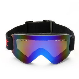 877b984a77d Anti-fog glasses ski dustproof goggles men women snow skate sport mask  eyewear snowboard uv400 protective sunglasses equipment
